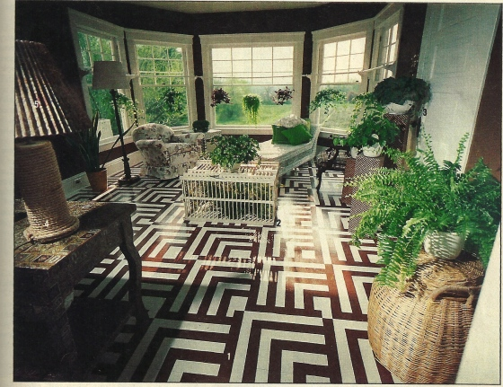 Geometric Sunroom